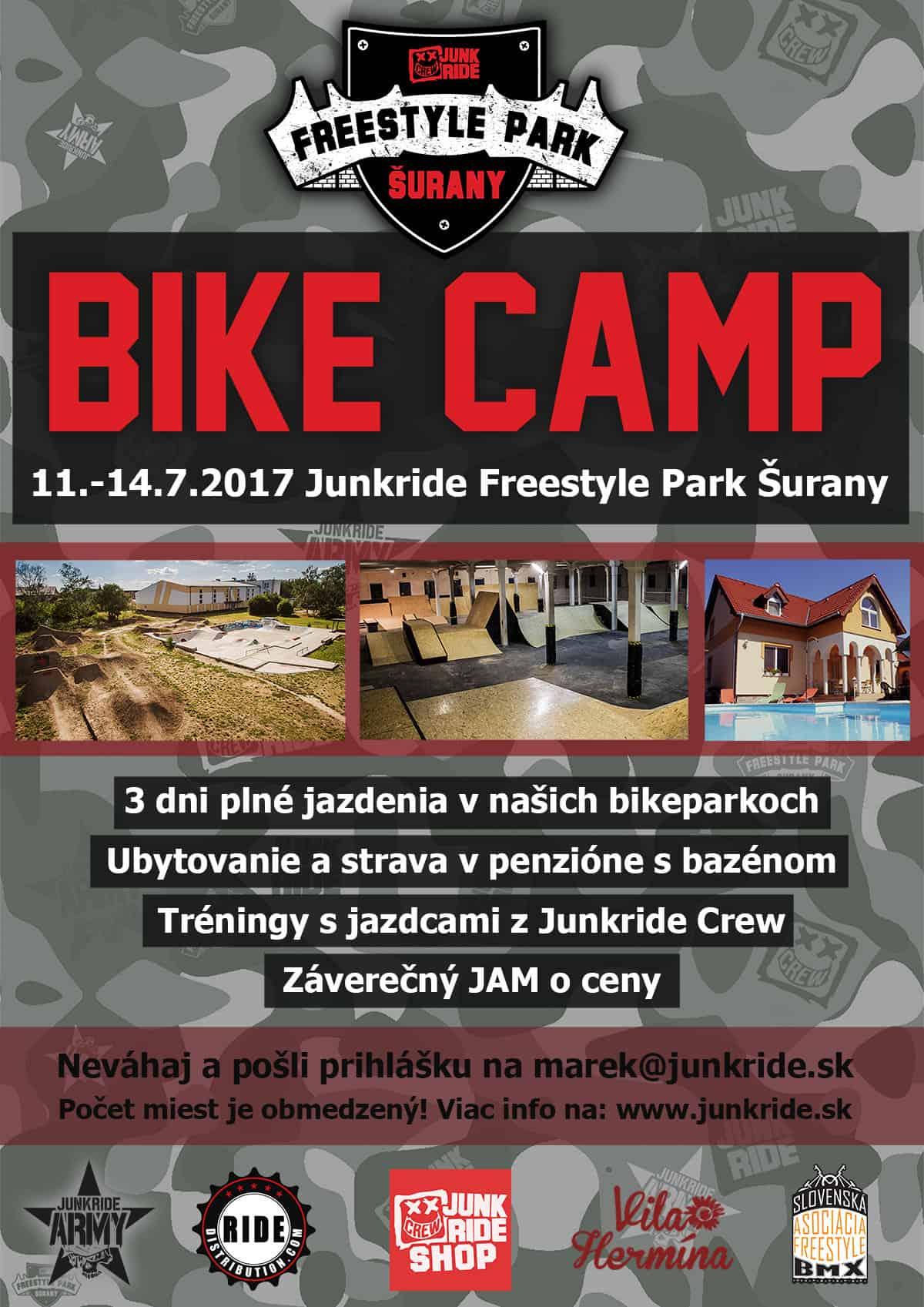 JUNKRIDE BIKE CAMP 2017