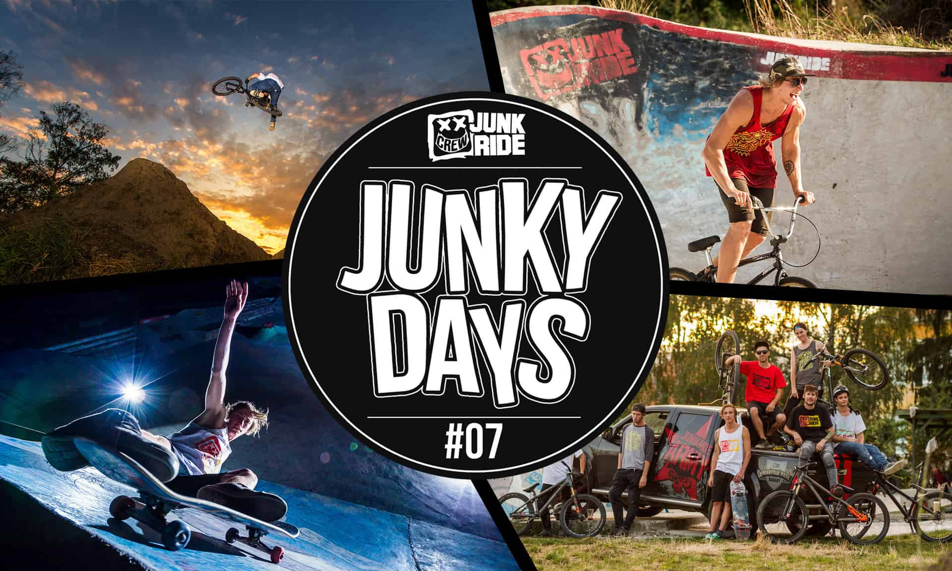 JUNKY DAYS 7 COVER