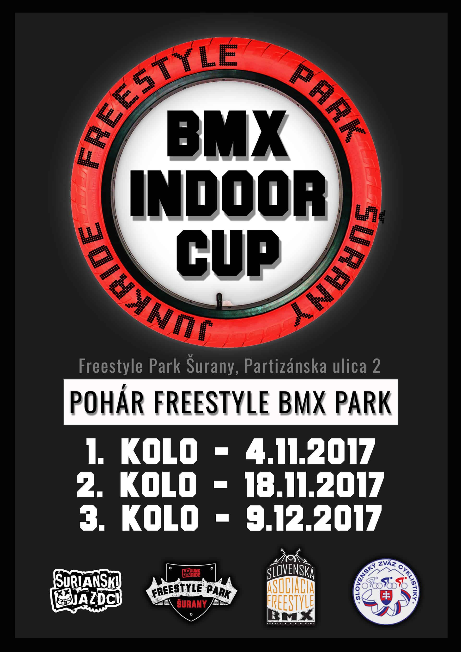 BMX POHÁR - INDOOR CUP